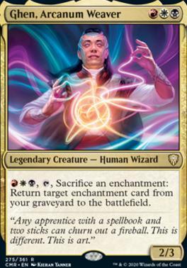 Commander Legends: Ghen, Arcanum Weaver