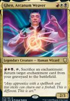 Commander Legends: Ghen, Arcanum Weaver