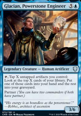 Commander Legends: Glacian, Powerstone Engineer