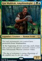Commander Legends Foil: Gor Muldrak, Amphinologist