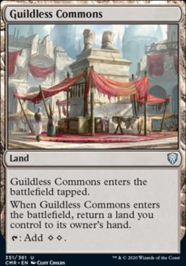 Commander Legends: Guildless Commons