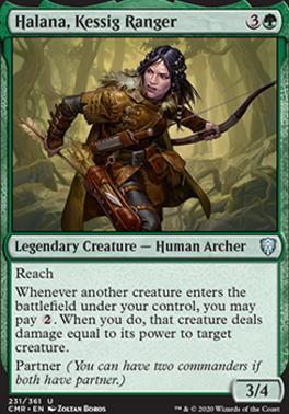 Commander Legends Foil: Halana, Kessig Ranger