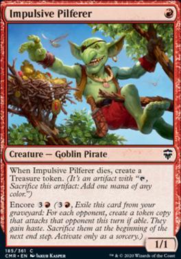 Commander Legends: Impulsive Pilferer