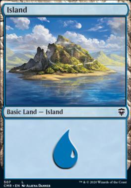 Commander Legends: Island (507 - Commander Deck)
