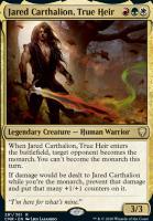 Commander Legends: Jared Carthalion, True Heir
