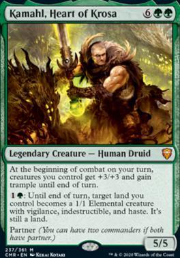 Commander Legends Foil: Kamahl, Heart of Krosa