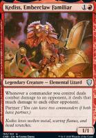 Commander Legends: Kediss, Emberclaw Familiar