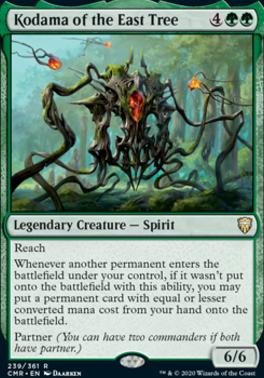 Commander Legends Foil: Kodama of the East Tree