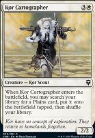 Commander Legends: Kor Cartographer