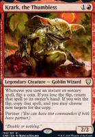 Commander Legends: Krark, the Thumbless