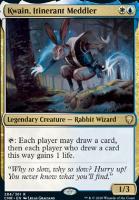 Commander Legends: Kwain, Itinerant Meddler
