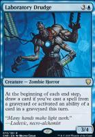 Commander Legends Foil: Laboratory Drudge
