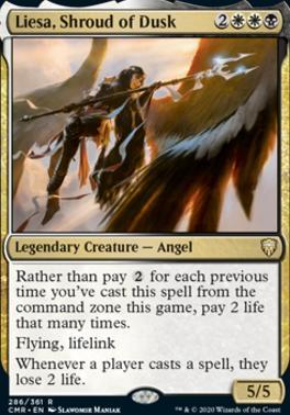 Commander Legends: Liesa, Shroud of Dusk