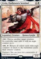 Commander Legends: Livio, Oathsworn Sentinel