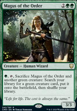 Commander Legends: Magus of the Order