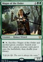 Commander Legends Foil: Magus of the Order