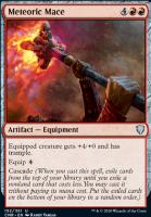 Commander Legends Foil: Meteoric Mace