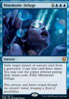 Commander Legends: Mnemonic Deluge