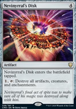 Commander Legends: Nevinyrral's Disk