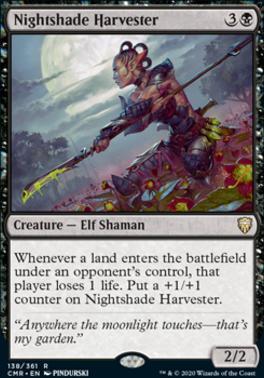 Commander Legends Foil: Nightshade Harvester