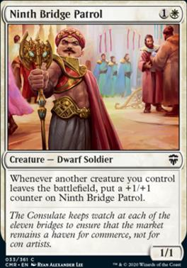 Commander Legends Foil: Ninth Bridge Patrol