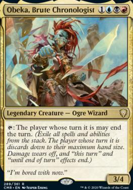 Commander Legends: Obeka, Brute Chronologist