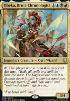Commander Legends: Obeka, Brute Chronologist