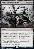 Commander Legends: Profane Transfusion
