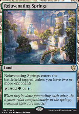 Commander Legends Foil: Rejuvenating Springs