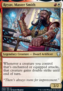 Commander Legends: Reyav, Master Smith