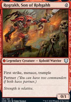 Commander Legends: Rograkh, Son of Rohgahh