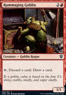 Commander Legends Foil: Rummaging Goblin