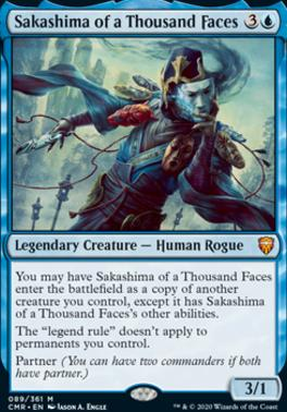 Commander Legends: Sakashima of a Thousand Faces