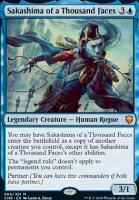Commander Legends Foil: Sakashima of a Thousand Faces