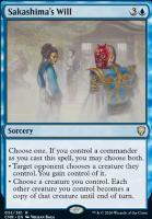 Commander Legends: Sakashima's Will