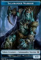 Commander Legends: Salamander Warrior Token