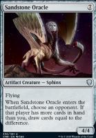 Commander Legends Foil: Sandstone Oracle