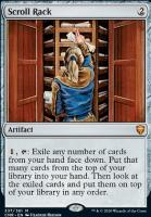 Commander Legends Foil: Scroll Rack