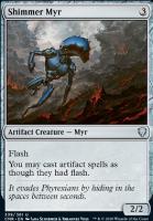 Commander Legends: Shimmer Myr