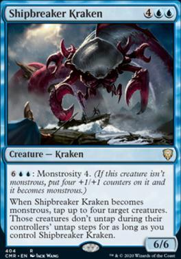 Commander Legends: Shipbreaker Kraken (Commander Deck)
