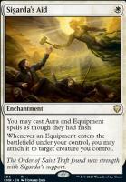 Commander Legends: Sigarda's Aid (Commander Deck)