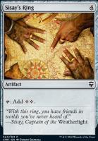 Commander Legends Foil: Sisay's Ring