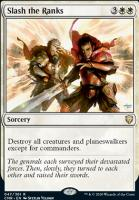 Commander Legends: Slash the Ranks