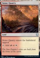 Commander Legends: Stone Quarry (Commander Deck)