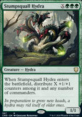 Commander Legends: Stumpsquall Hydra (Commander Deck)