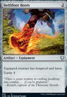 Commander Legends: Swiftfoot Boots (Commander Deck)