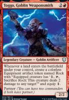Commander Legends: Toggo, Goblin Weaponsmith