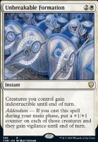 Commander Legends: Unbreakable Formation (Commander Deck)