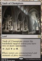 Commander Legends: Vault of Champions