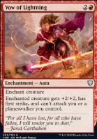 Commander Legends Foil: Vow of Lightning